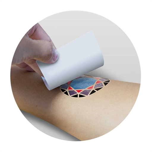 Temporary Tattoo Foil - 51Mm X 51Mm