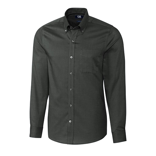 Men's Tailored Fit Nailshead Woven Shirt