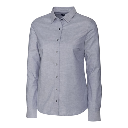 Ladies Stretch Oxford Woven Shirt