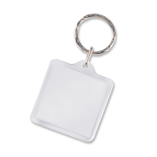 Lens Key Ring - Square