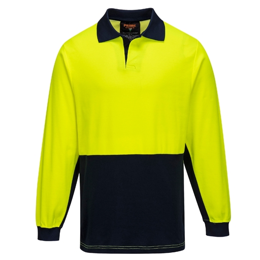 Food Industry Cotton Comfort Polo - L/S