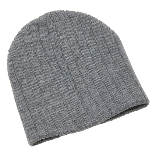 Heather Cable Knit Beanie