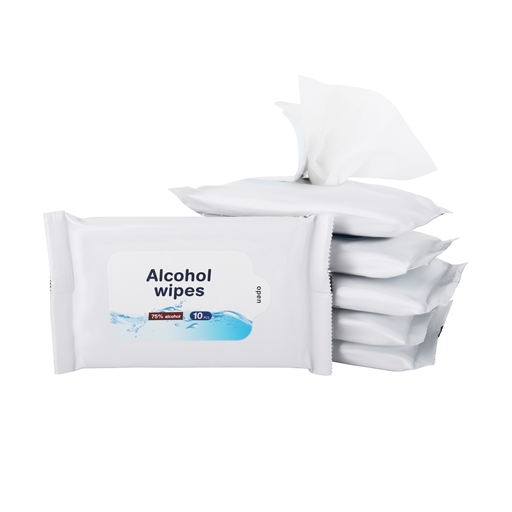 75% Alcohol Wet Wipes - 10PC Pack